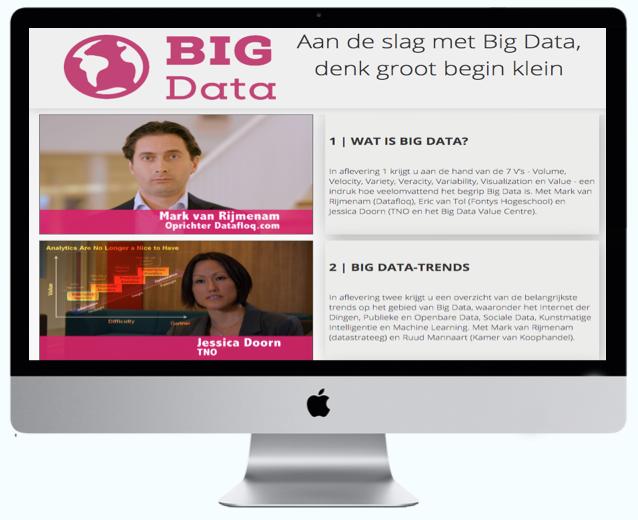 Lancering Mooc Big Data